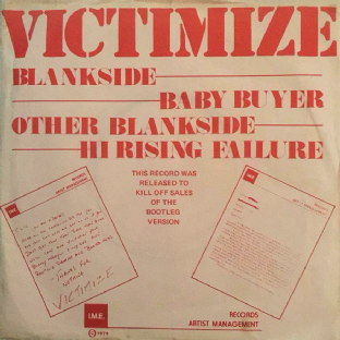 "VICTIMIZE ‎- Baby Buyer/Hi Rising Failure (7"" Single) (NM/G+)"